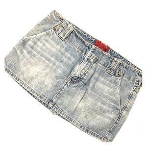 Hollister Denim, Jean Mini Skirt